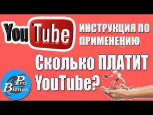 Сколько платят на ютубе за просмотры: как и за что платит youtube