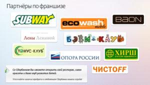 Каталог франшиз от Сбербанка: франчайзинговые программы