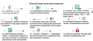 Пошаговая инструкция реорганизации ООО путем присоединения
