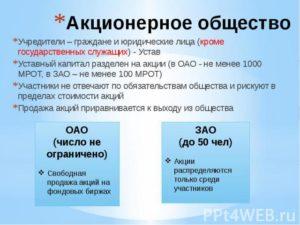 Регистрация ПАО: устав публичного акционерного общества