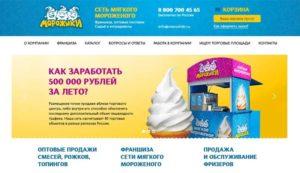 Франшиза мягкого мороженого