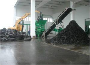 Переработка шин в крошку: бизнес план мини завода