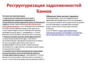 Реструктуризация кредита: определение, требования банков, порядок оформления